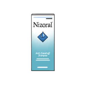 Illustration of Nizoral Shampoo