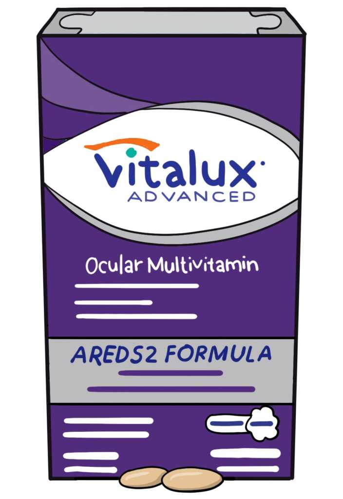 Vitalux Advanced for Age Related Macular Degeneration
