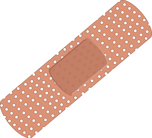 Image of a regular adhesive bandage for small cuts