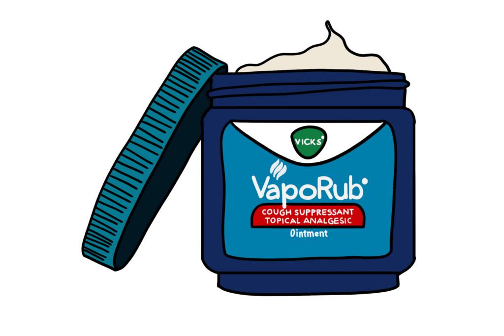 Vicks VapoRub Illustration