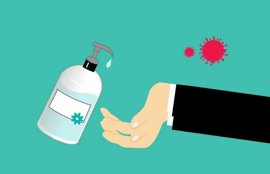 hand washing during coronovirus or covid-19